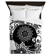 Sugar Skull Bedroom & Bedding