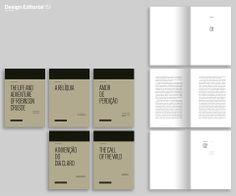 """Design de coleção de livros """"Project Gutenberg – print-on-demand"""" Sara Pontes 2013/14 · MA in Editorial Design · IPT · Tomar · Portugal"""