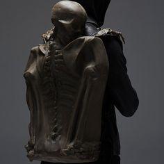 D A R K S I D E___ #darkwear #darkstyle #darklabel #handmade #unconventional #emergingdesigner #avantgarde #conceptstore #menswear #mensfashion #madebyhand #artisan #japanesefashion #elliottevan #leathercraft