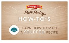 Pepperidge Farm® Puff Pastry - Baking Tips and Cooking Techniques
