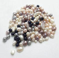 aasorted pearl, beads,genuine freshwater pearl, by Teal Blue, Pink, Loose Pearls, Pearl Grey, Pearl Beads, Fresh Water, Lavender, Beaded Bracelets, Jewels