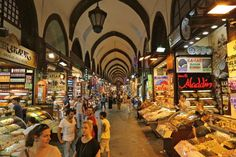 Shopping the Spice Market in the ancient heart of Istanbul, Turkey