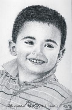 Pablo. Colección retratos a lápiz. Año 2012