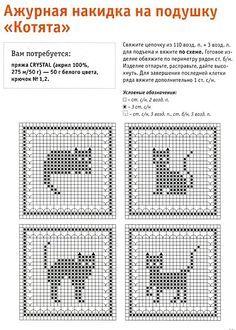 Billedresultat for fair isle cat chart