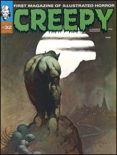 Fantasy Ink: Creepy Frazetta