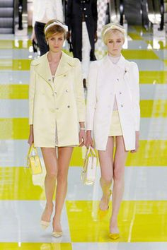 60s magic at Louis Vuitton S/S 2013