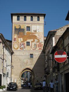 BASSANO del GRAPPA - Old Town Gate   Italia
