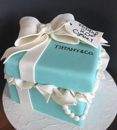 For @nicoledoane . . . cute idea... I think everyone is starting to get the point that I would like a Tiffany themed party of some kind. @Jennifer Bandy
