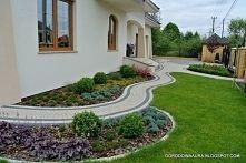 ogród przed domem inspiracje - Szukaj w Google