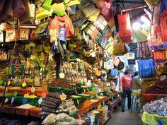 Underground Market in Tampico, Mexico