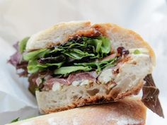 The Blue Pig and Fig Sandwich at Pastoral Artisan Cheese, Bread, & Wine #chicago #restaurant