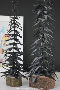Trees made by bicycle tubes