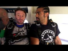 #Boxing hero David Haye teamed up with our friends at Skydive Dubai recently to experience his first ever skydive. See how the #Hayemaker got on. #SkydiveDubai #Celebrities #Dubai #MiddleEast #Skydiving