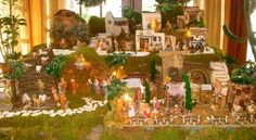 pictures of Fontanini nativity displays | Italian Connection: The Nativity Scene: A Can't-Miss Christmas ...