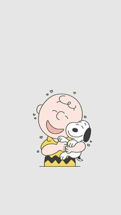 Snoopy e Charlie Brown Snoopy Love, Charlie Brown Und Snoopy, Snoopy And Woodstock, Cute Disney Wallpaper, Wallpaper Iphone Cute, Cute Cartoon Wallpapers, Cute Wallpaper Backgrounds, Peanuts Cartoon, Cartoon Dog