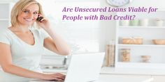 For those struggling with credit and looking for a viable option to deal with their immediate needs, they can check out the option of #badcreditunsecuredloans. These are collateral free loans and can be acquired without much of any confusion.   To see more visit :- http://www.loan-broker.uk/blog/are-unsecured-loans-viable-for-people-with-bad-credit/