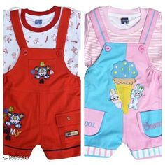 Clothing Sets Elegant Printed Kid's Clothing Sets(Pack Of 2) Fabric: Cotton Hosiery Sleeves:Sleeves Are Included Size: Age Group (0 Months - 6 Months) -12 in Age Group (6 Months - 12 Months) -14 in Age Group (12 Months - 18 Months) -16 in Age Group (18 Months - 24 Months) -18 in Type: Stitched Description: It Has 2 Pieces Of Kid's Top & 2 Pieces Of Kid's Bottom Work: Printed/Embroidered Country of Origin: India Sizes Available: 0-6 Months, 6-12 Months, 12-18 Months, 18-24 Months   Catalog Rating: ★4.2 (508)  Catalog Name: Cute Elegant Printed Kids Clothing Sets Vol 7 CatalogID_217304 C59-SC1182 Code: 546-1666638-7371