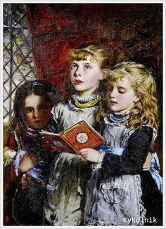 William Hippon Gadsby (British, 1844-1924) «Christmas Eve»