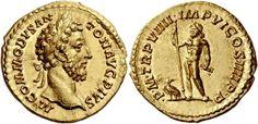 Imperial Rome AV Aureus ND 183/84AD Rome Mint 7.22g. Emperor Commodus 177-92AD
