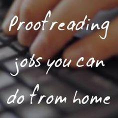 How to Make money with Online Proofreading Jobs.- I find irony in the fact that I found errors in this article