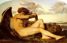 O Anjo decaído, 1847.