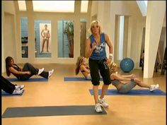 Jackie Warner Abs  Very Modifiable--Gives you something to work up to!