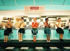 cristina aguilera gifs on WiffleGif Vintage Diner, Retro Diner, Mode Vintage, Vintage Girls, American Diner, American Restaurant, Rockabilly Pin Up, Rockabilly Fashion, Christina Aguilera