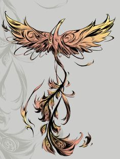Phoenix shoulder tattoo, phoenix tattoo back | Like Tattoo