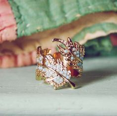 This ring is too gorgeous.