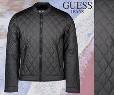 Guess Jeans steppelt fekete férfi kabát 2334189a1f