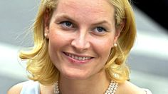 Crown Princess Mette-Marit at a reception on the occasion of the wedding of…