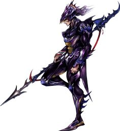 View an image titled 'Kain Highwind Art' in our Dissidia 012 Final Fantasy art gallery featuring official character designs, concept art, and promo pictures. Final Fantasy Iv, Final Fantasy Collection, Final Fantasy Artwork, Final Fantasy Characters, Fantasy Armor, Fantasy Series, Dragoon Final Fantasy, Fantasy Character Design, Character Art