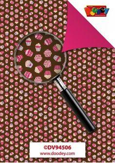 Nieuw bij Knutselparade: 2763 Doodey achtergrondpapier Cupcakes bruin/roze DV94506 https://knutselparade.nl/nl/papier-en-karton/2878-2763-doodey-achtergrondpapier-cupcakes-bruin-roze-dv94506.html   Papier en karton, Decoratiepapier en blokken, Scrapbook, Scrapbook Albums/Papier -  Doodey