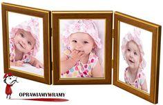 ramka na trzy zdjęcia do postawienia