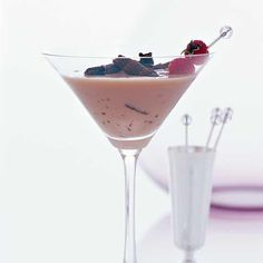 """Chocolate-Raspberry Truffletini 