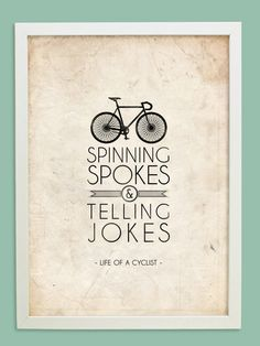 ...what happens in the bike