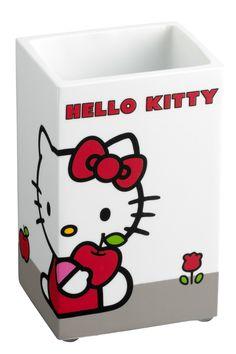 #Cipì #Hello #Kitty Bicchiere | #Resine #moderno | su #casaebagno.it a 11 Euro/pz | #accessori #bagno #complementi #oggettistica #gadget
