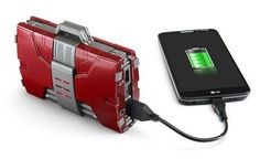 Iron Man Mark V Armor Suitcase Mobile Fuel Cell powers up your gadgets on the go - It has a pair of USB ports to connect to other power hungry devices that have been depleted of juice, obtaining a charge from its 12,000 mAh power reserves. | Coolest Gadgets