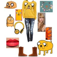 """Adventure time outfit #2"" by mackenna-stevens on Polyvore"