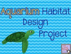 Aquarium Habitat Design Project (Free File from The Science Penguin)