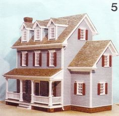 Dollhouse plans Design #5