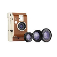 Instant Camera with 3 Lenses