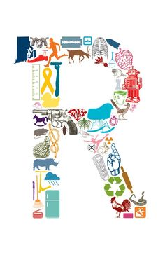 R is for Rachel. 11 x 17 Poster by EAKdesign $15.50 via Etsy.