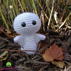 cute Amigurumi Ghost