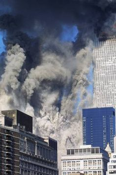 """Twin Towers were destroyed faster than physics can explain (at free fall speed """"collapse""""). We Will Never Forget, Lest We Forget, World Trade Center, Flight 93 Memorial, Day Of Infamy, 11. September, Sad Day, Tours, Historical Images"""