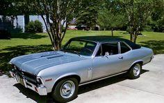 1971 Chevy Nova side view