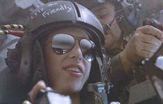 Colette Hiller as Cpl. Ferro in Aliens. Ferro rocked in her own way.