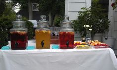 End of Summer Party Ideas - Sangria Bar