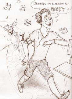 Oh look, Tom's a Disney character. Now everything makes sense. These drawing of him are sooo cute!!!