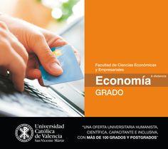 #Grado en #Economía (#online) de la #UCV #CercaníaUCV #TuGradoUCV